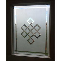 Glass Etching Work, for Residential