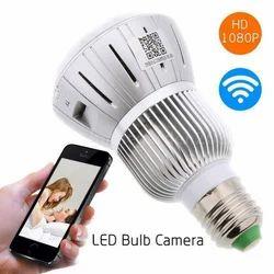 Spy CCTV Bulb Camera