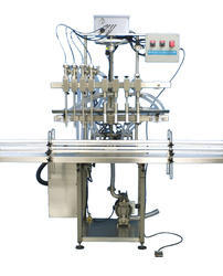 Automatic Bottle Filling Equipment, Capacity: 1 Ton
