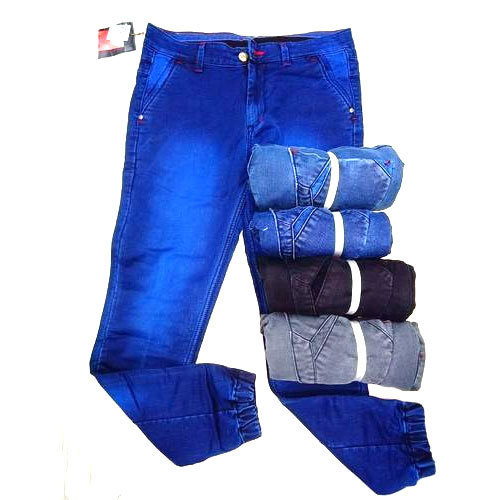Optional Denim Mens Joggers Jeans, Waist Size: 30