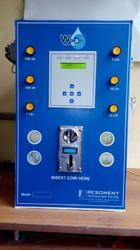Two Tap Coin Operated Water Vending Machine With GSM