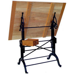 Industrial Furniture Wooden Drawing Board