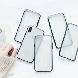 PC TPU White /Transparent Phone Case for UV Printing for All Iphone Model:-Iphone