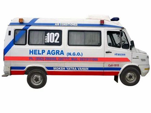 Ambulance - Patient Transport Ambulance Manufacturer from Faridabad