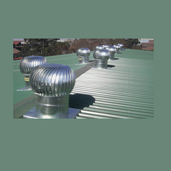 Aluminium Automatic Turbo Roof Ventilators