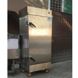 Cryotech Rectangle Commercial Single Door Rice Steamer, Capacity: 50 Kg