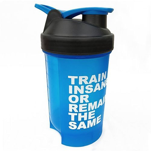 Dassio Plastic Gym Shaker 500ML with Mesh, Capacity: 500 Ml, 200grams