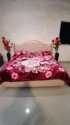 Double Bed Richwool Darkpink Gullivar Blankets