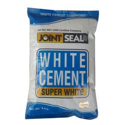 Joint Seal White Super White Cement, 1 kg X 25 Packets