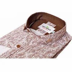 Party Wear Printed Mens Designer Shirt