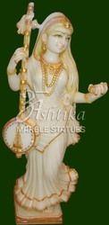 Meera Bai Pure White Marble