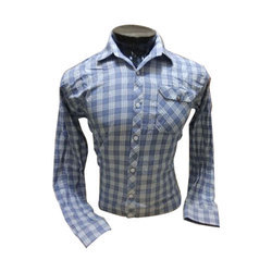 73797916c9d4 Men Cotton Fancy Check Shirt