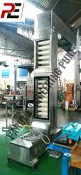 Chain Stainless Steel Conveyors, Material Grade: SS304, Capacity: Up To 5 Tph