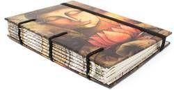 Handmade Paper Journal Diary Notebook Buddha Design