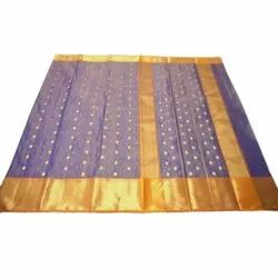 Embroiderer Casual Wear Silk Sarees, With blouse piece, 6.3 mtr