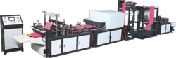Fully Automatic Box Type Bag Making Machine Model HES-C700