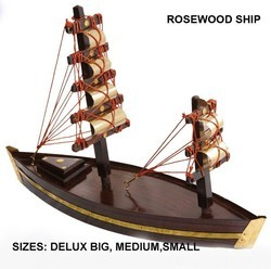 Handicraft Rosewood Ship