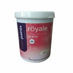 High Gloss Asian Paints Royale Atmos Paint, For Interior Walls, Packaging Type: Bucket