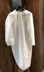 High Performance Non Woven Disposable Gown (Employee), Size: Free Size, Fully Impervious
