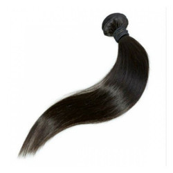 8 Inch Indian Natural Human Weft Hair Extension