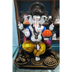 Handmade Indian Gods Fiber Statues