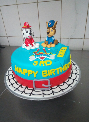 Cartoon Birthday Cake At Rs 1400 Kilogram Cream Cake Id 17371971712