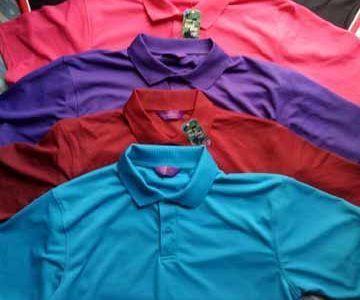 Surplus Stock Lot Of Polo Neck T Shirt