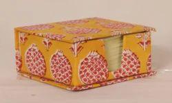 Hand Made Paper Slip Box