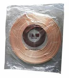 Copper Pipe, For Air Condition, Thickness: 0.6 Mm