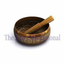 Antique Tibetan handmade bronze Singing Bowl