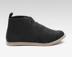Casual Wear Synthetic Women Black Solid Boots