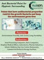 Repurated brand Matt Anti Bacterial Paint, Liquid, Packaging Size: 10&20liter