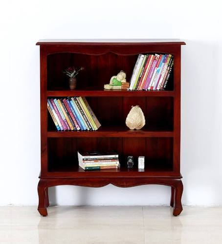 Mango Wood Maple Finish BookShelf
