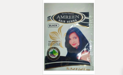 Amreen 40g Herbal Based Black Henna Hair Color, For Personal
