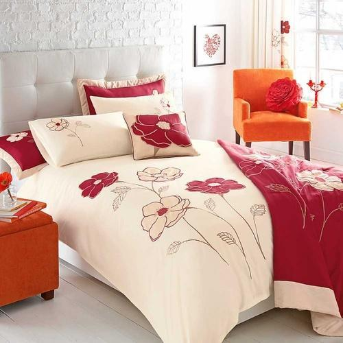 Elegant Printed Nylon, Cotton Designer Bedsheet, Size: Double Bedsheet