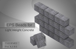 White EPS beads for Light Weight Concrete, Packaging Type: Bag, Packaging Size: 900 Gms To 4 Kgs