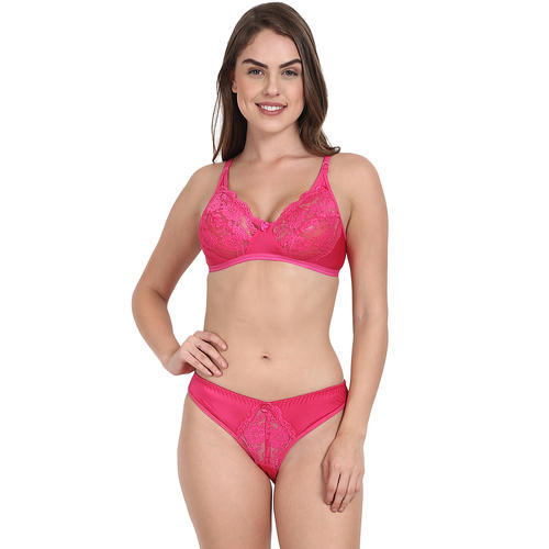 7301d51bc123 Pink Women Bra Panty Set, Rs 125 /piece, Arun Trading Company | ID ...
