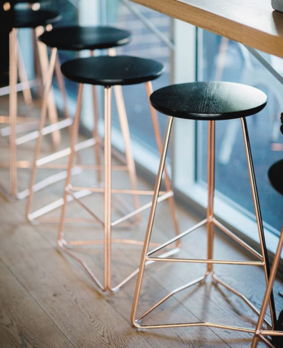 Rose Gold Bar Stool At Rs 2500 Piece Sohna Road