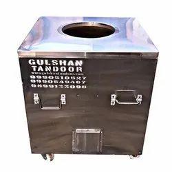 S Steel Charcoal Tandoor For Commercial, Capacity: 150 Lt