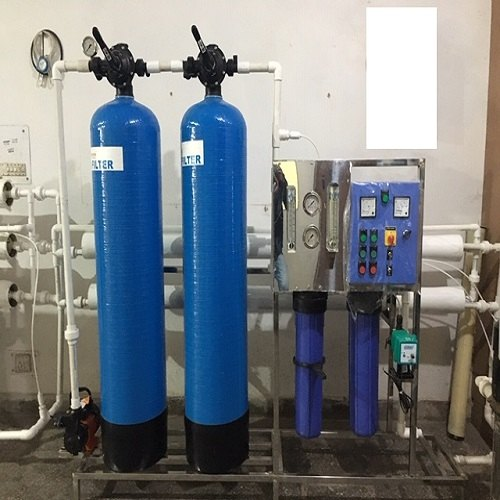 Automatic FRP 1000 LPF Industrial RO Water Plant, RO Capacity: 1000-2000 (Liter/hour)