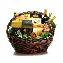 Madonn Chhocolates Brown Corporate Gift Basket