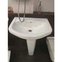 Haptic White Stylish Wash Basin