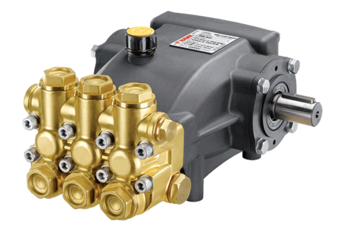 Brass HW Series - Sewer Jetting Pump, Max Flow Rate: 70 LPM
