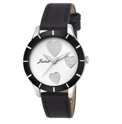 Jainx Zara 1 White Dial Analog Watch for Women & Girls JW555