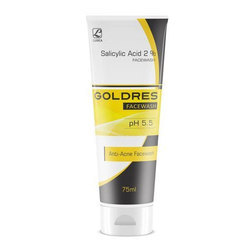 Goldres Salicylic Acid Face Wash, Packaging Size: 75 Ml, Packaging Type: Tube And Box