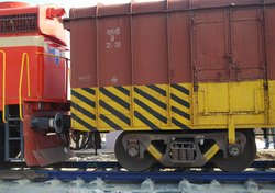 Rail Weighing System in Motion