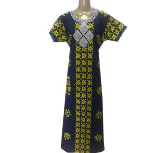 48575ff9e5 Small And Large Blue, Yellow Ladies Cotton Nighty, Rs 185 /piece ...