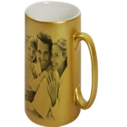 Sublimation Golden Mug