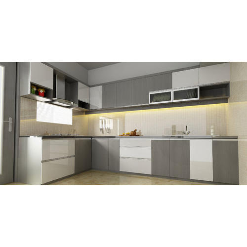 Two Tone Simple Minimal Kitchen