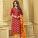 Banarasi Jacquard Straight Fit Suit